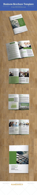 Business Brochure Template-V82 - Corporate Brochures