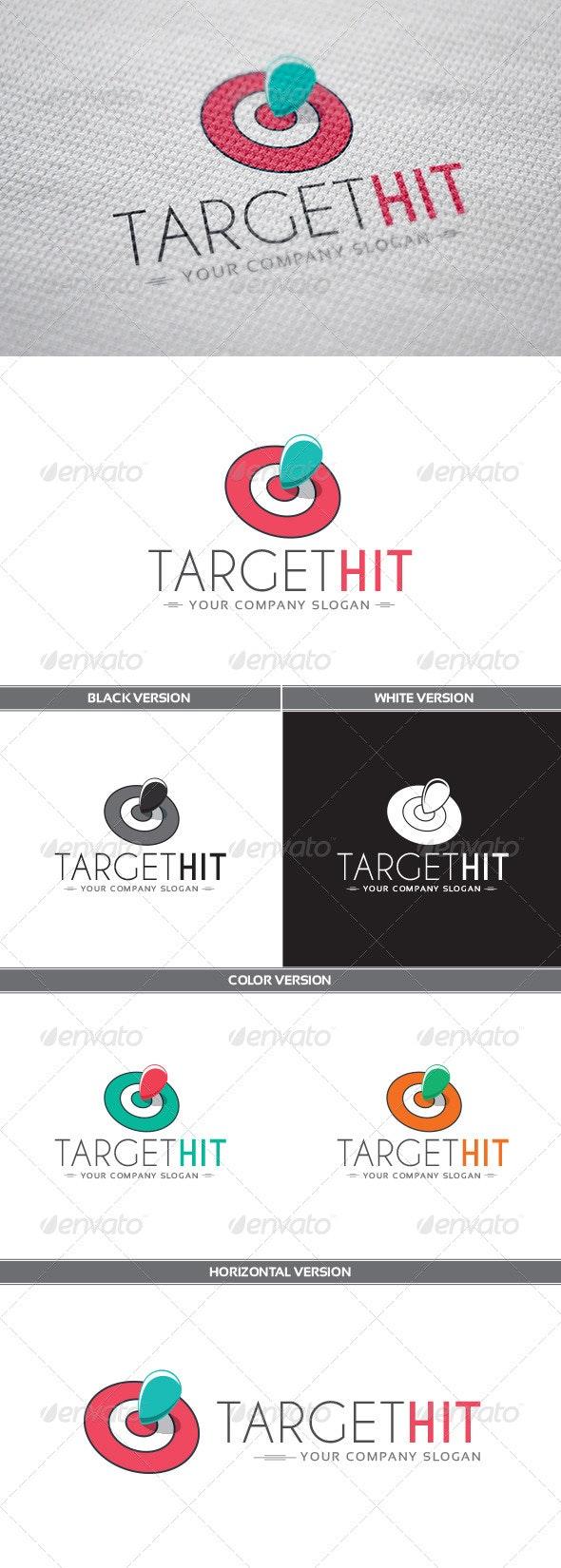 TargetHit Logo - Objects Logo Templates