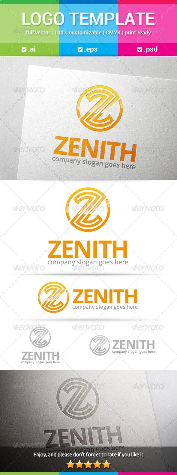 Zenith Letter Z Logo - Letters Logo Templates