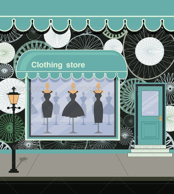 Clothing Store - Buildings Objects