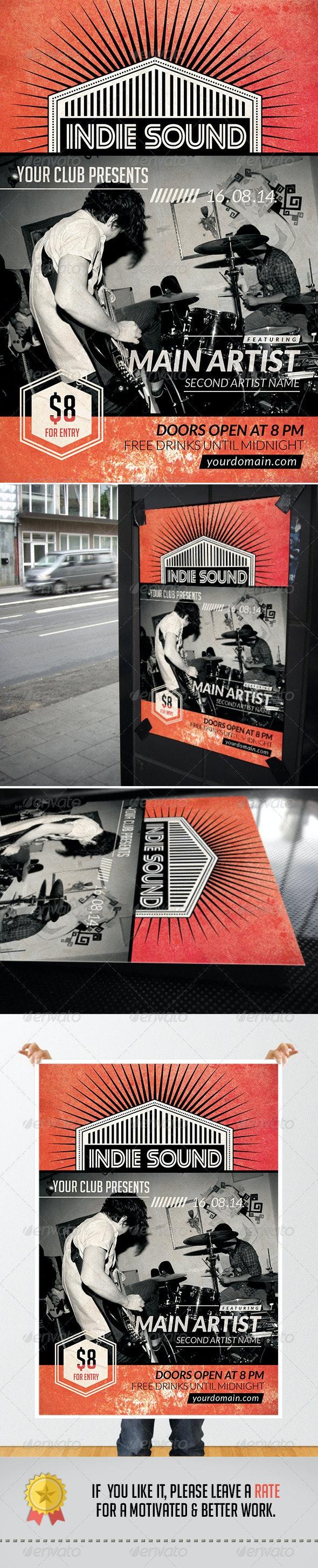 Rock & Night Flyer - Flyers Print Templates