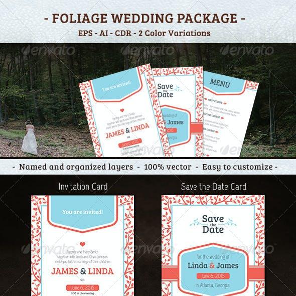 Foliage Wedding Package