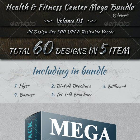 Health & Fitness Center Mega Bundle - Volume 1