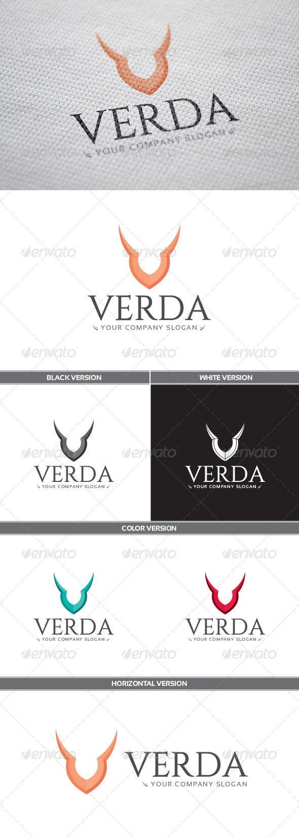 Verda Logo - Letters Logo Templates