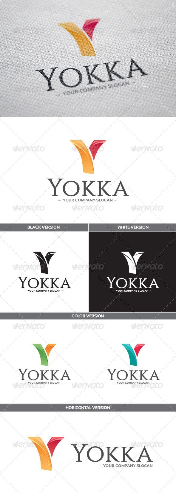 Yokka Logo - Letters Logo Templates