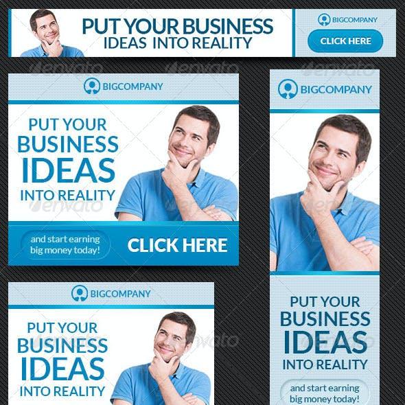 Corporate Web Banner Design Template 43