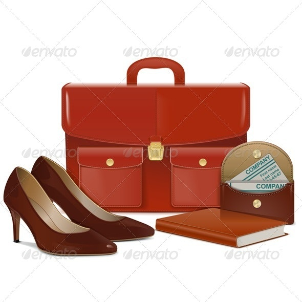 Businesswoman Accessories - Business Conceptual