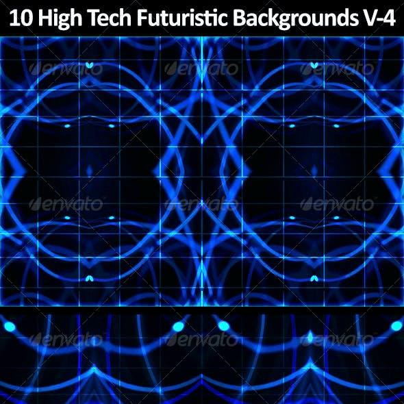 10 High Tech Futuristic Backgrounds Vol 4