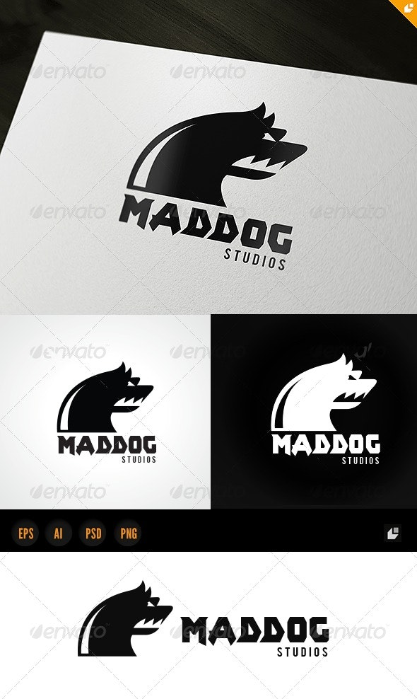 Mad Dog Studio - Animals Logo Templates