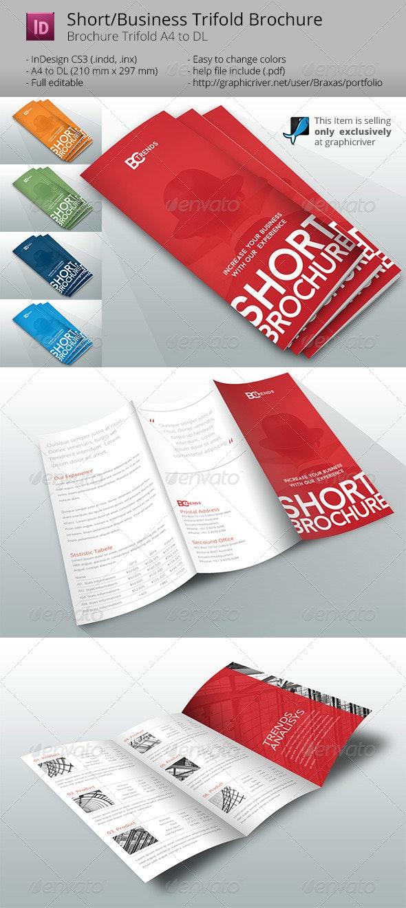 Business Short Brochure - Informational Brochures