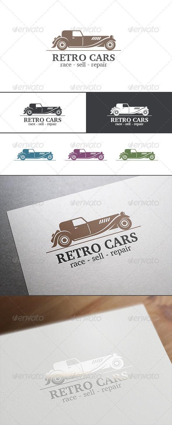 Retro Vintage Car Abstract Logo - Objects Logo Templates