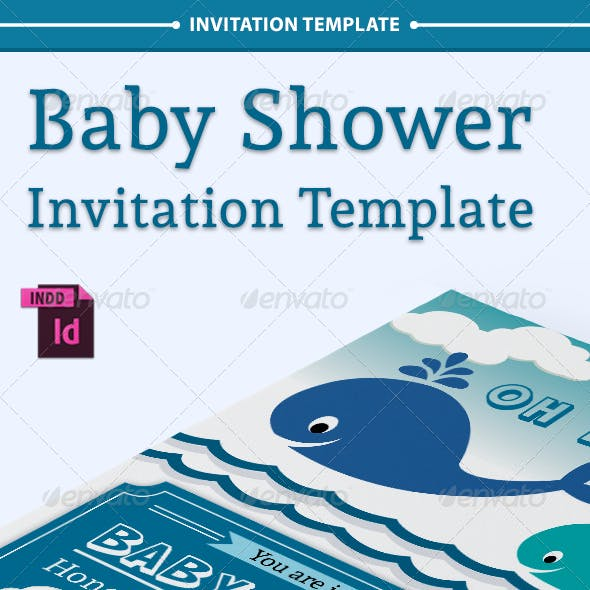 Baby Shower Template - Vol. 6