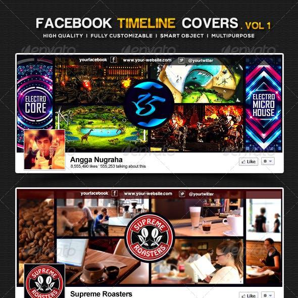 Facebook Timeline Covers I Volume 1