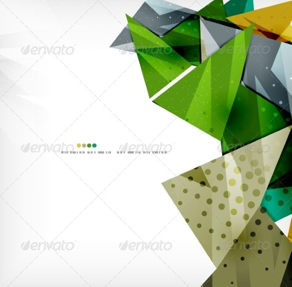 Futuristic Abstract Background - Abstract Conceptual
