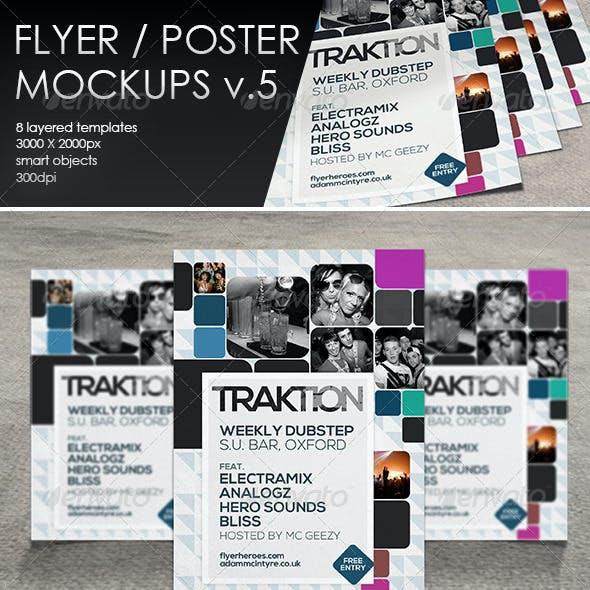 Flyer / Poster MockUp-Vol.5