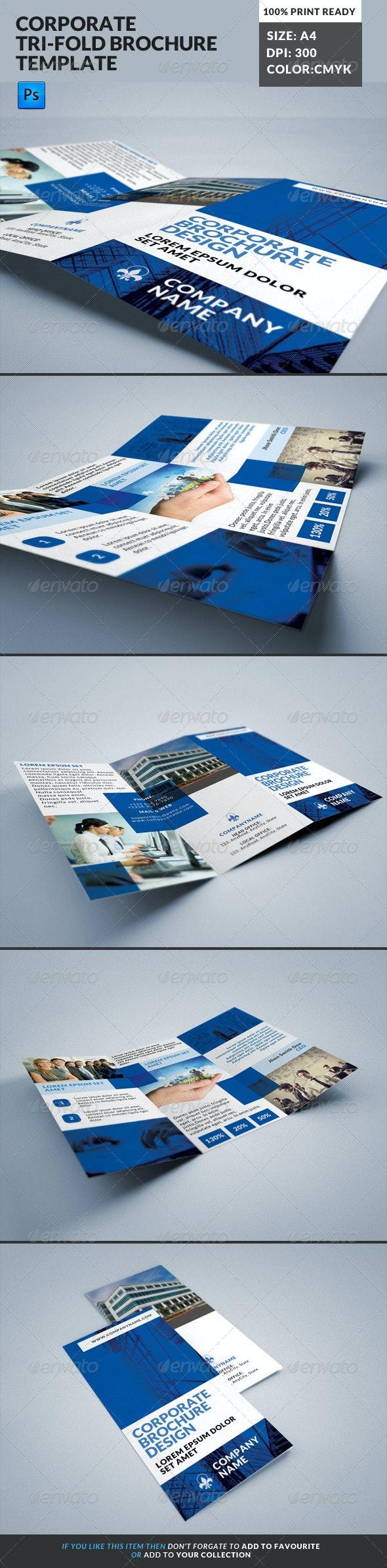 Corporate Tri-Fold Brochures Template 16 - Corporate Brochures