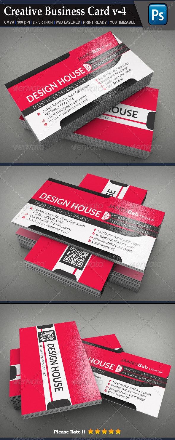 Creative Business Card v-4 - Creative Business Cards
