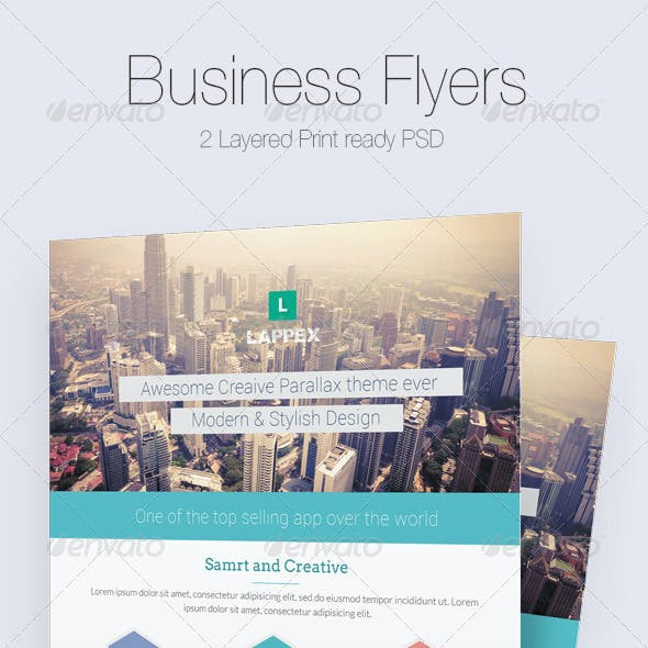 Modern Business Flyer/Poster Templates