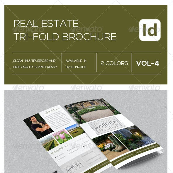 Real Estate Tri-Fold Brochure Vol-4