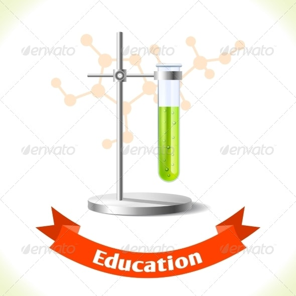 Education Icon Test Tube - Miscellaneous Vectors