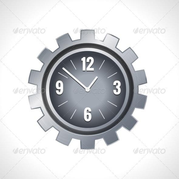 Metal Gear Clock - Concepts Business