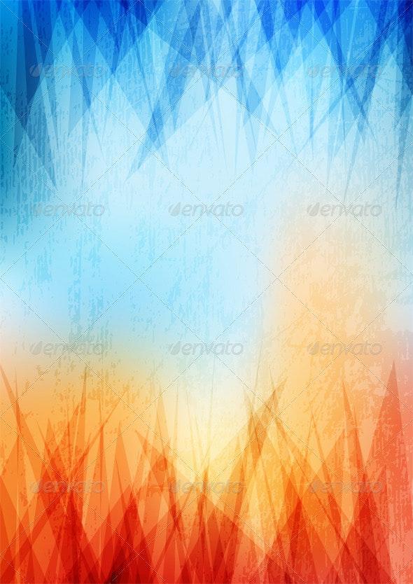 Grungy Background - Backgrounds Decorative