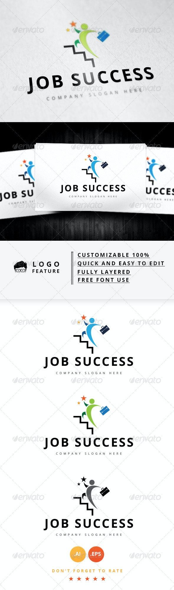 Job Success Logo - Logo Templates