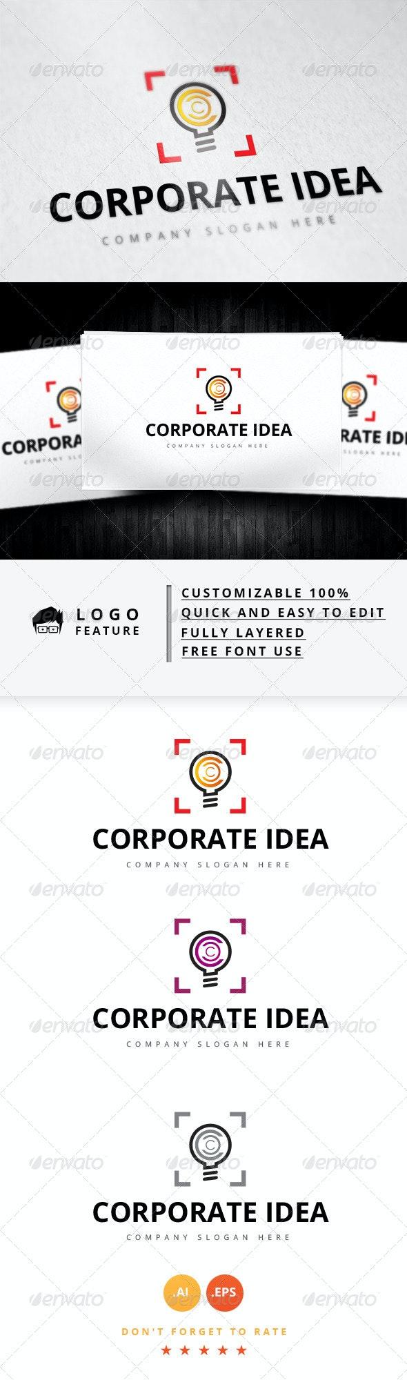 Corporate Idea Logo - Logo Templates