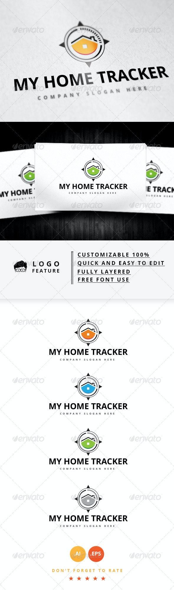 My Home Tracker Logo - Logo Templates