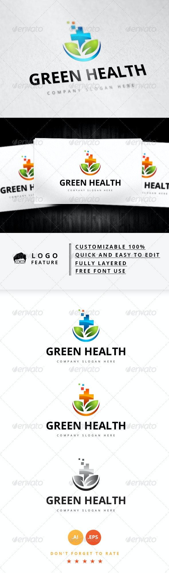 Green Health V.2 - Logo Templates