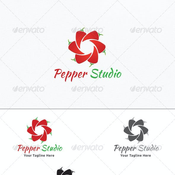 Pepper Studio - Logo Template