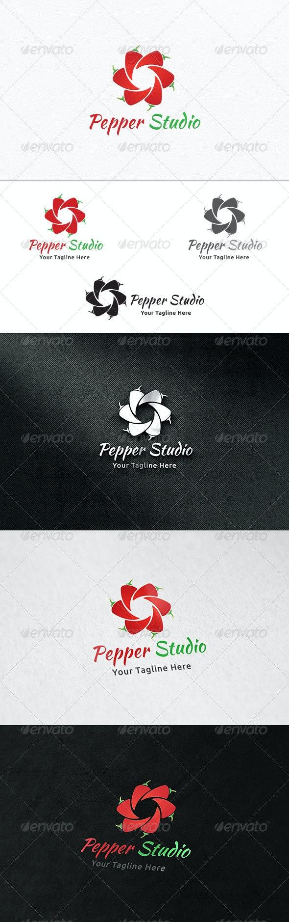 Pepper Studio - Logo Template - Nature Logo Templates