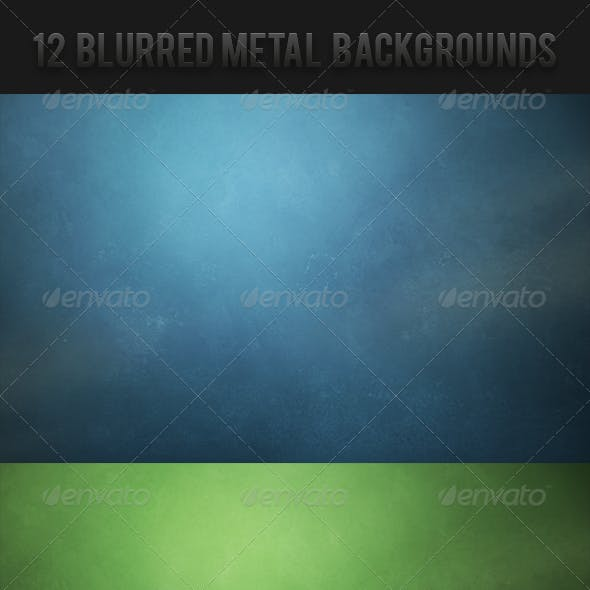 Blurred Metal Backgrounds