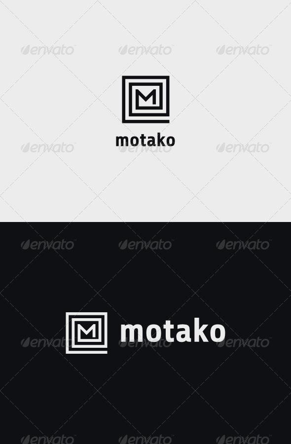 M Square Logo - Letters Logo Templates