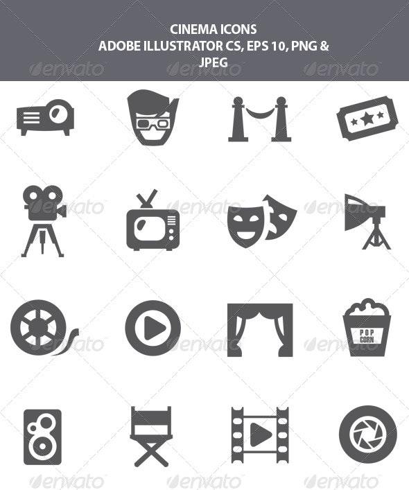 Cinema Icons - Media Technology