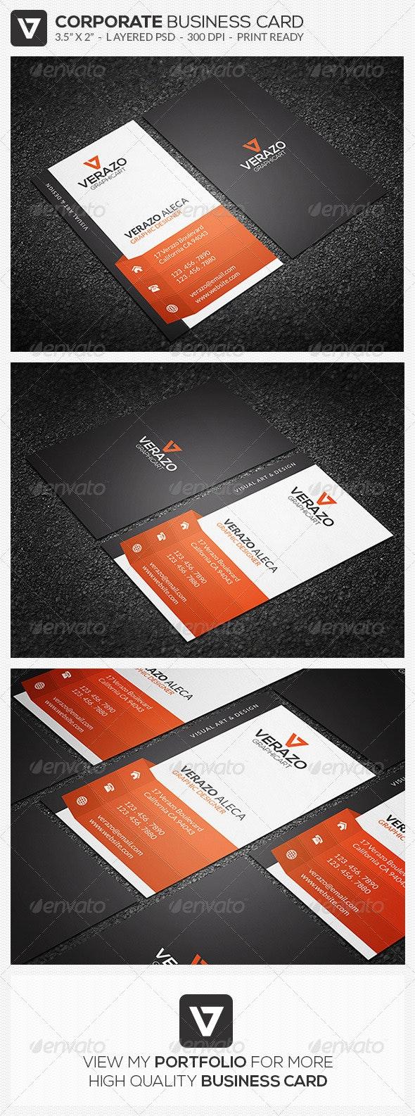 Modern & Creative Business Card 46 - Creative Business Cards