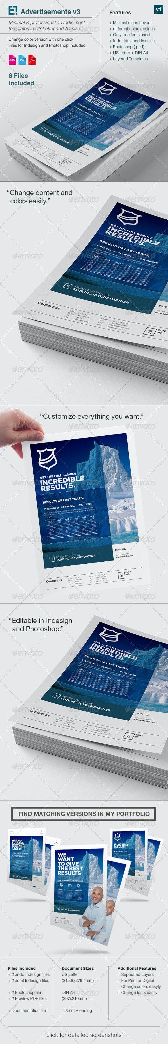 Elite Business Flyer A4 US Letter v3 - Print Templates
