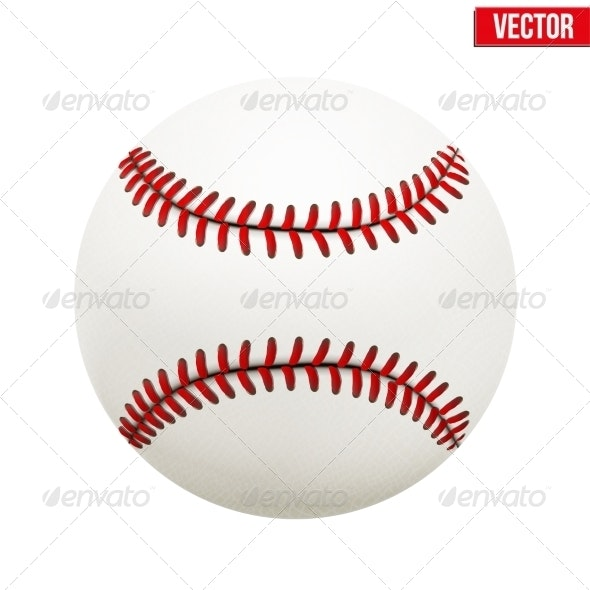 Baseball Leather Ball - Sports/Activity Conceptual