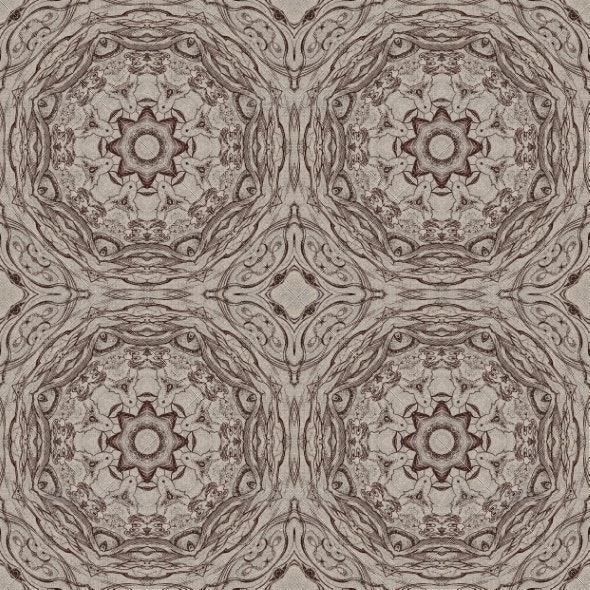 Seamless Graphic Pattern on Canvas - Patterns Decorative