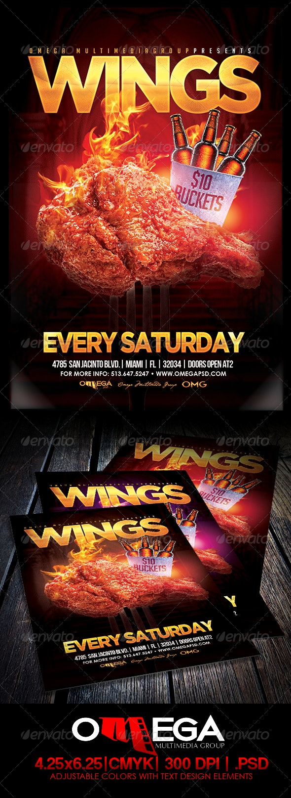Wings - Events Flyers