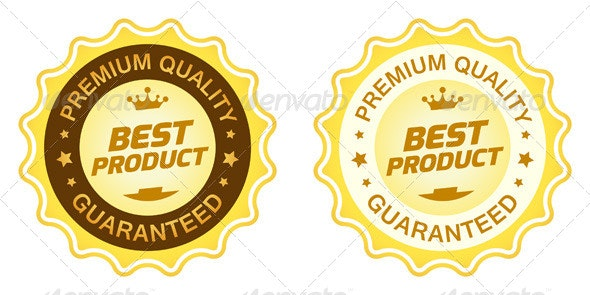 Best Product Label - Commercial / Shopping Conceptual