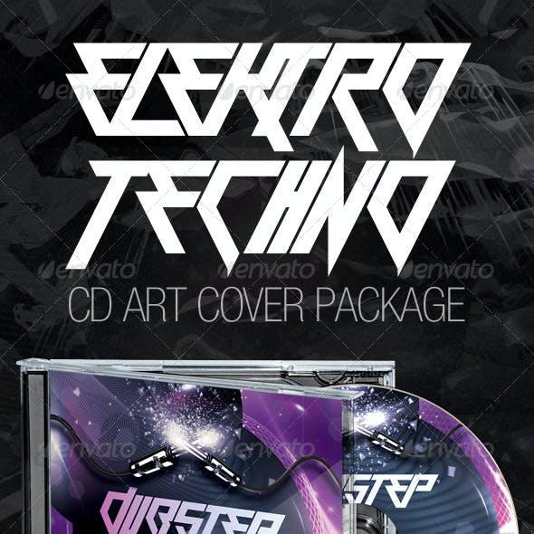 Elektro Techno CD Cover Artwork Bundle (3in1)