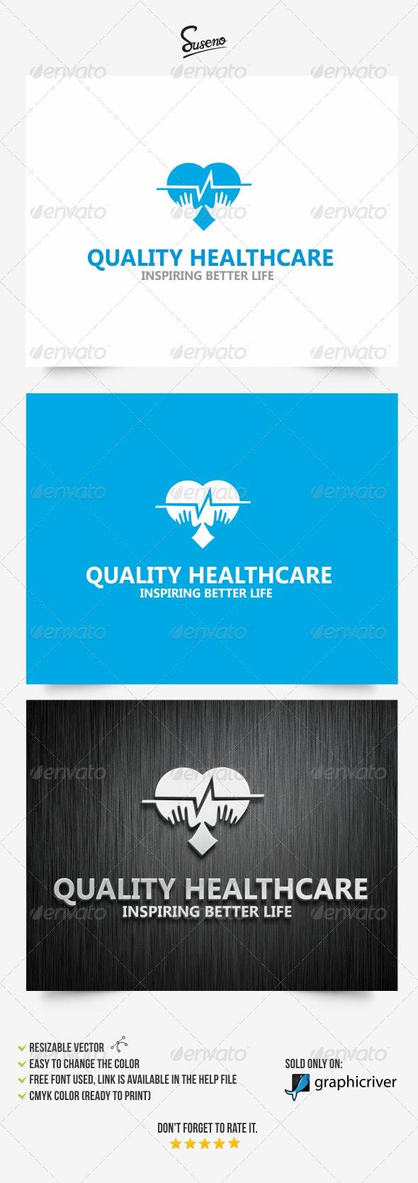 Quality Healthcare logo - Symbols Logo Templates