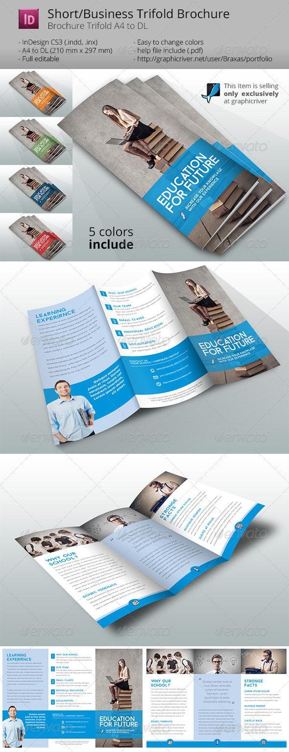 School Brochure Template - Informational Brochures