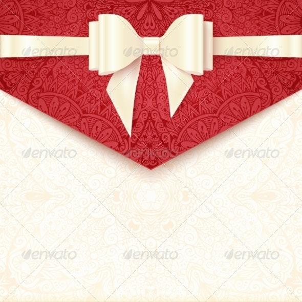Elegant Wedding Card Template - Weddings Seasons/Holidays