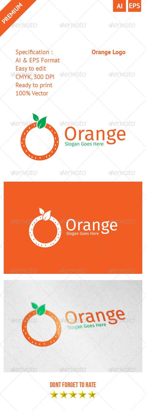 Orange Logo - Objects Logo Templates