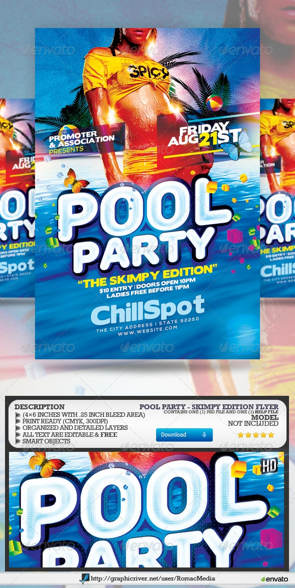 Pool Party - Skimpy Edition - Clubs & Parties Events