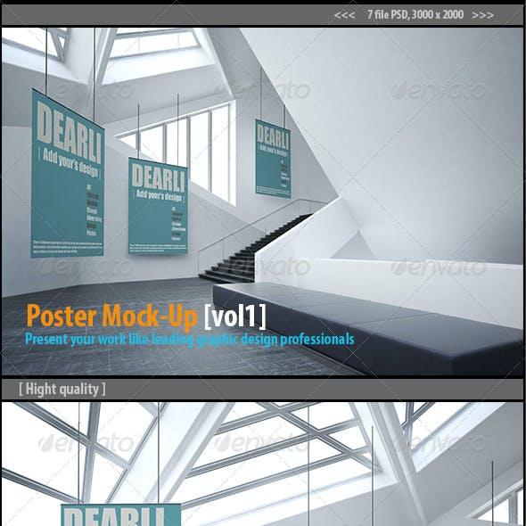 Poster Mockups [vol1]