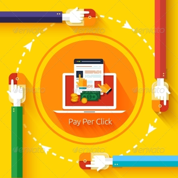 Pay Per Click Internet Advertising Model - Web Technology