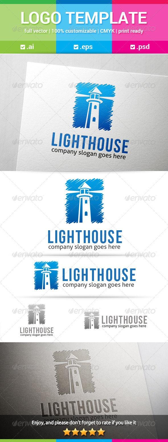 Lighthouse Logo - Buildings Logo Templates